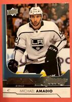 2017-18 Upper Deck Series 2 Michael Amadio Young Guns #491 RC Los Angeles Kings
