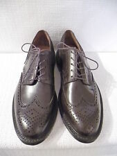 NEW J.CREW MENS PRESTON WING TIPS, 55740, SIZE 9.5, SIGAR BROWN, $228