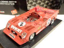 BRUMM R238. 1975 ALFA ROMEO 33TT12, 500 HP. 1/43 SCALE. MIB