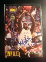 1994 Signature Rookies Tetrad Signatures Melvin Simon Auto MultiSport Autograph