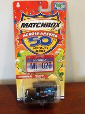MATCHBOX 50th BIRTHDAY SERIES - ACROSS AMERICA - MICHIGAN - 1921 FORD MODEL T