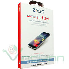 """Pellicola frontale ZAGG HD Dry per Apple iPhone 7 4.7"""" High Definition display"""