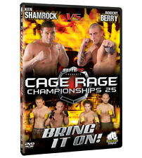 GABBIA RAGE 25 Bring It SU DVD [ MMA UFC BJJ K1 TRIFOGLIO Buzz Gary Turner]