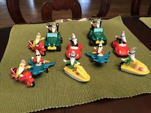 Lot Of 10 Vintage 1988 Mac Tonight McDonalds Happy Meal Toys Moon Man