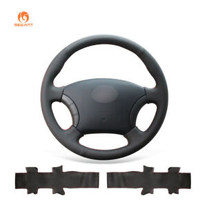 Black Leather Steering Wheel Cover for Great Wall Haval Hover H3 H5 Wingle 3 5
