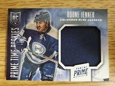 2013-14 Panini Prime Prime Time Rookies Jerseys #RKBJ Boone Jenner 7/50