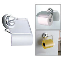 Wall Mounted Bathroom Toilet Paper Roll Holder Rack Tissue Stand Washroom