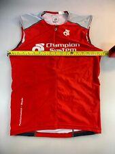 Champion System Mens Blade Long Tri Triathlon Top Medium M (6545-7)
