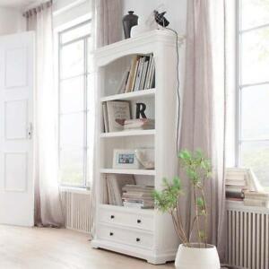 Provence Bookcase - White