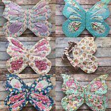 Fabric Fairy Wings Children  Costume Dress Up Handmade