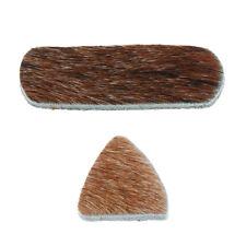Cible silencieuse de plat de repos en cuir traditionnel de flèche d'archet