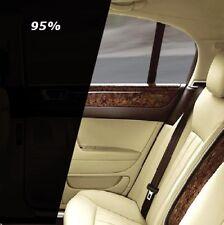 Auto Scheiben Tönungsfolie 76x300cm Tief Schwarz Black Plus 95% ink ABG TÜV frei