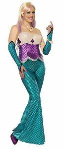 Mermaid adult womens sleeves sleevelets Halloween costume accessory