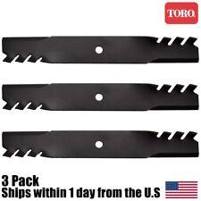 """3PK Genuine OEM Toro Z Master 52"""" Atomic Mulching Blades 105-7796-03 105-7796"""