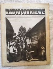 RADIOCORRIERE EIAR 1931 N° 50 - Sila  Calabria PUBBLICITA' PHONOLA, ATWATER KENT