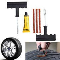 1 Set Emergency Car Bike Auto Van Motorcycle Tubeless Tyre Puncture Repair Kit