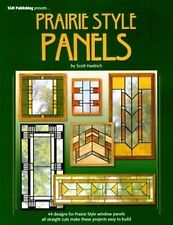Stained Glass Pattern Book - PRAIRIE STYLE PANELS