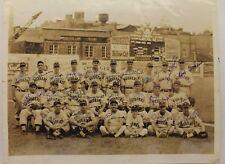 Toledo Mud Hens 1944 Team Signed Autographed Original 8x10 Photograph 23 Autos