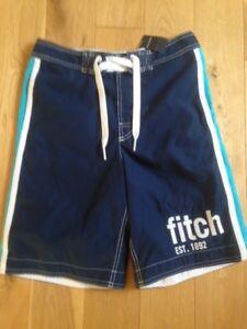 Abercrombie Swimming Shorts, Kids XL, Blue