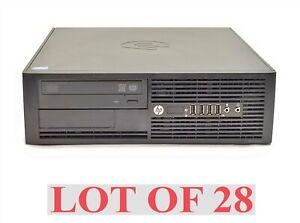 HP Compaq Pro 4300 SFF PC Intel i3-3220 3.30GHz 6GB 500GB NO OS Computer Lot 28
