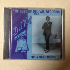 DEL-VAL RECORDS - BEST OF     PHILLY SOUL 65-75 - BRAND NEW CD