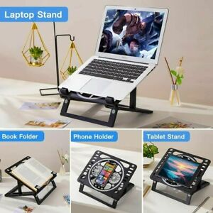 Adjustable Laptop Stand For Multi Function Desk Computer Stand With Cooling Fan