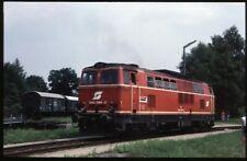 35mm slide ÖBB Österreichische Bundesbahnen 2143 044-2 where? Austria 1987 origi