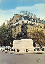 BR3678 Le lion de Belfort place Denfert Rochereau Paris   france