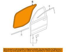 Pontiac GM OEM 05-10 G6 Front Door-Weatherstrip Weather Strip Seal 25927470
