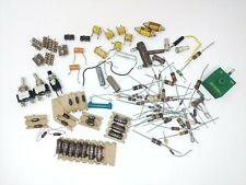 Vintage Lot Electronics Components Parts Resistors Capacitors Switches Other