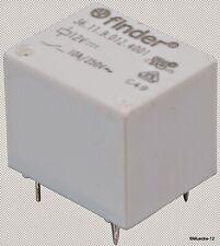 Finder Relais: elektromagnetisch; SPDT; USpule :12VDC; 10A/250VAC