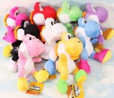 "9pcs/set Super mario bros yoshi 8"" soft Stuffed plush toy figure Doll"