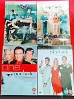 NIP / TUCK - SEASON 1-4 - DVD - ( 21 DISC ) - DYLAN WALSH - JULIAN MCMAHON - 18