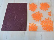 Embossing Folder  -  Large all over Flowers