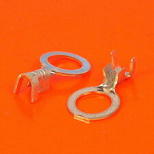 High Quality M6 6.2mm Uninsulated Crimp Ring Terminal - Pack Sizes 10 to 100