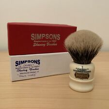 Simpson Chubby 1  Manchurian Badger Shaving Brush