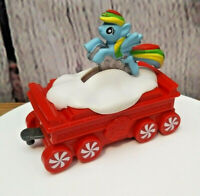 Mcdonalds Holiday Train Express My Little Pony Happy Meal Toy #5 2017