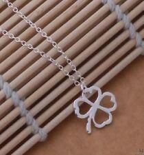 Versilberte Echtschmuck-Halsketten & -Anhänger mit Glücks-Themen