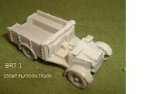 WWII BRITISH MORRIS COMMERCIAL 15CWT PLATOON TRUCK  RESIN MODEL KIT - B1