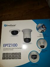 EverFocus EPTZ100 10X OPTICAL ZOOM INDOOR TRUE DAY/NIGHT SPEED DOME CAMERA