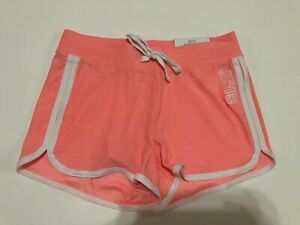NWT Justice Girls Active Athletic Dolphin Shorts Quick Dry Orange Size 10