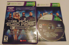 Black Eyed Peas Experience (Microsoft Xbox 360, 2011) music complete