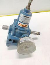 ROSEMOUNT PNEUMATIC REGULATOR 03311-0429-0001 W/GAUGE 0-30 PSI 0-200  kPa