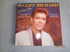 Cliff Richard-I Love You Vinyl album