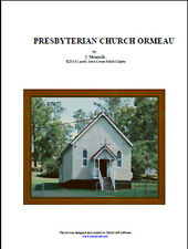 PRESBYTERIAN CHURCH ORMEAU - cross stitch chart