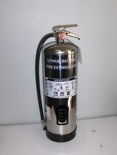 Fire Extinguisher for Lithium-Ion / Electric Vehicle Battery Packs
