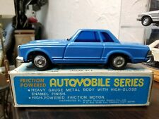 Mercedes 230SL Pagoda Coupe Blue 1:24 Metal Friction Car