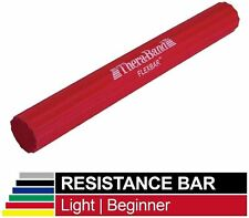 """Thera-Band Flex Bar Resistance Bar in Red 10 lbs Force - 12"""" x 1.5"""""""