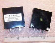 QTY (3) AT-32K PROJECTS UNLIMITED PIEZO CERAMIC AUDIO TRANSDUCER 80 dBa PUI