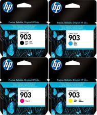 4 Original HP 903 Genuine Officejet Pro 6960 6970 Ink Cartridges